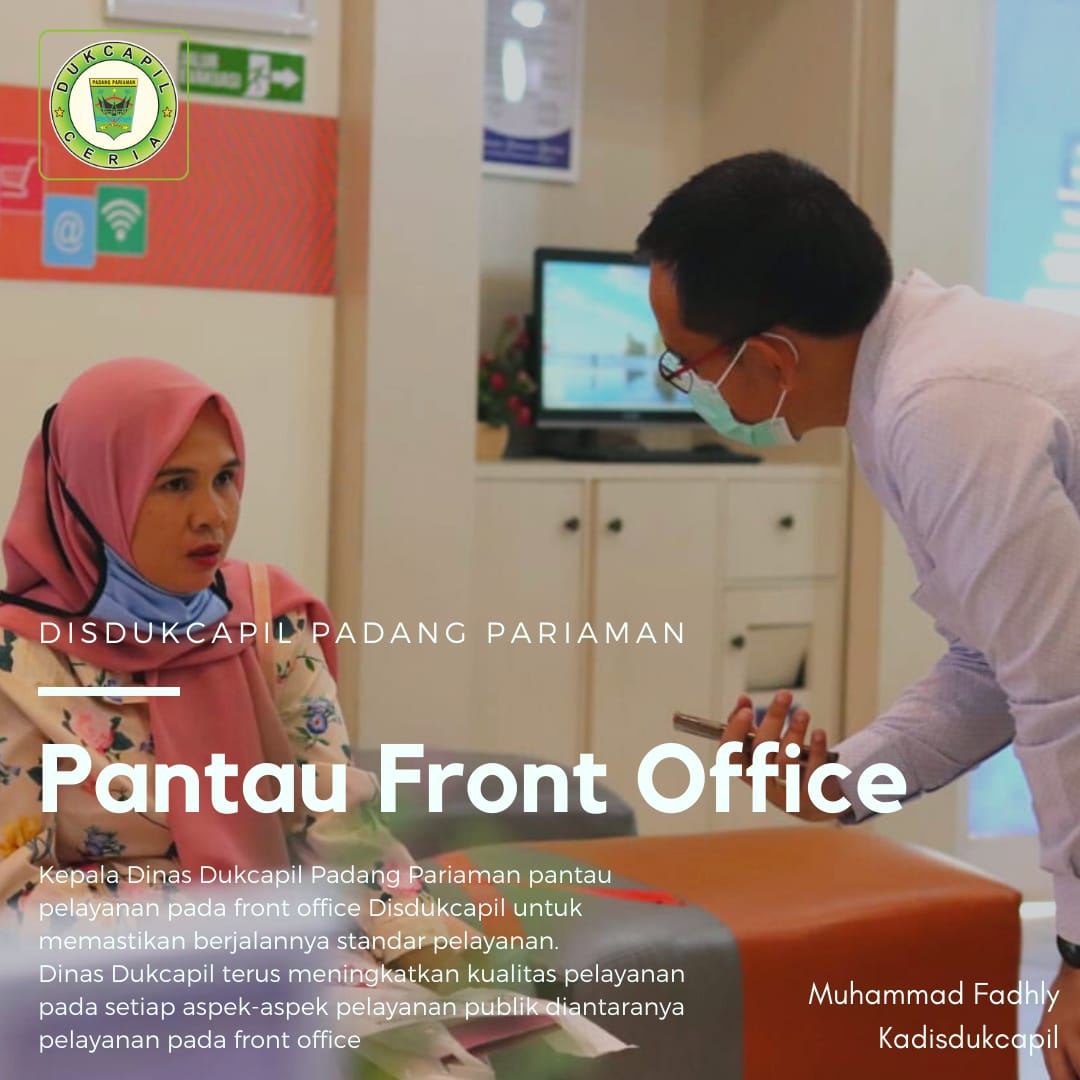 Front Office Checked - (Ada 1 foto)